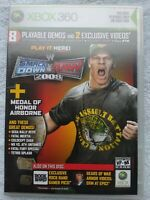 Xbox 360 XBOX official magazine playable Demo disc #78 WWE Raw Smackdown
