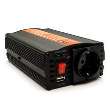 Spannungswandler 12V auf 220V/230V 300W/600W+USB Wechselrichter 90% Sinus