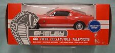 Nw Collect Shelby Gt-500 Telephone 2005 Vintage Ringer Red Car Kng America Auto