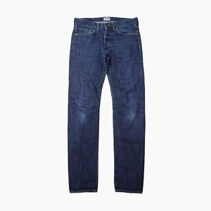 Edwin ED80 Mens Slim Tapered Wash Blue 12oz Denim Jeans Waist 32 Leg 34 ED 80