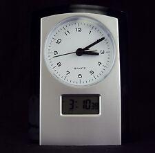 Desk Clock ~ Dual Analog/Digital Display ~ CL-725 ~ Time/Day/DateAlarm/Snooze