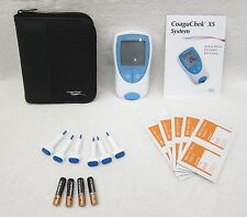 NEW Roche PT/INR CoaguChek XS Meter Monitor Test Kit, INR