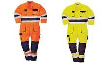 Portwest Workwear Mens Nantes Hi-vis Coverall TX55ONRXL XL Orna