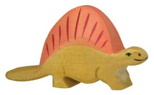 HOLZTIGER 80343: Dimetrodon Dinosaur, Collectable Wooden Toy NEW