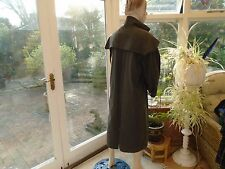 OPEN AIR DK GREY/GREEN)UNISEX STOCKMAN COAT  MED SIZE  WORN ONLY ONCE