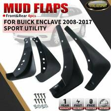 4x RH + LH Mud Flaps Splash Guards Mudguards for Buick Enclave 3.6L 2008-2017