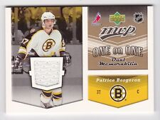2006-07 NHL Upper Deck MVP Jerseys # OJ-BR Bergeron and Ryder One on One Dual