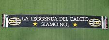SCIARPA JUVENTUS LA LEGGENDA DEL CALCIO SIAMO NOI SCARF ITALY BUFANDA RARA Z703