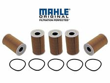 Set of 5 Oil Filter Mahle 99610722553ML Porsche 911 Boxster Carrera GT Cayenne