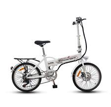Bicicleta eléctrica de 20 in (approx. 50.80 cm) de 7 velocidades SHUANGYE Bicicleta plegable E-Bike Blanco ** Venta **