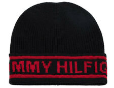Tommy Hilfiger Selvedge Knit Navy Blue Beanie Hat
