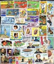 COMORES collections de 25 à 400 timbres différents