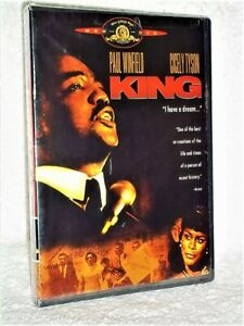King (DVD, 2005) Martin Luther Cecily Tyson Paul Winfield civil rights drama