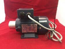 Unused LEESON IEC METRIC MOTOR model C63T34FZ18 1/3 HP 3 Phase V2