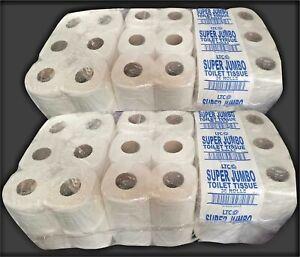 36 x Super Jumbo Toilét Roll Luxury 2Ply GB made