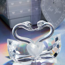 40 Choice Crystal Collection Kissing Swans wedding favors Bridal Shower Favor