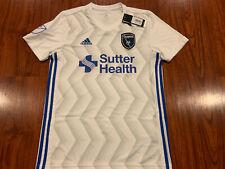 2018-19 Adidas Men's San Jose Earthquakes Away Jersey Soccer Medium M MLS US