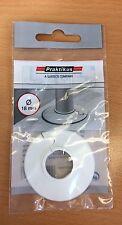 Praktikus Rohrrosette Kunststoff 18 mm weiß