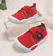 NIÑOS joven bebé Zapatos Sandalias Zapatillas de correr Hecho Italy Rojo 6264