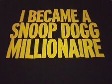 Snoop Dogg Shirt ( Used Size XL ) Very Nice Condition!!!