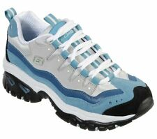 Skechers Women's Energy Wave Linxe Leather Cushioned comfort Walking Shoes 13400