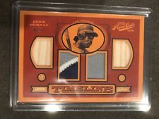 2016 PANINI PRIME CUTS TIMELINE Eddie Murray JERSEY BAT RELIC /5 Dodgers #TQ-EM