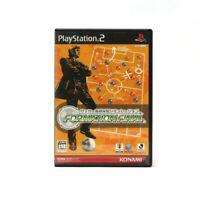 PS2 Spiel - Soccer Kantoku Saihai Simulation: Formation Final JAP mit OVP