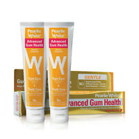 Pearlie White Advanced Gum Health Toothpaste 130gm (Bundle of 2)