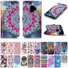 Luxury PU Leather Wallet Cards Holder Stand Case Cover Skin For Samsung Galaxy