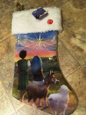 The Star Christmas Stocking -Lighted