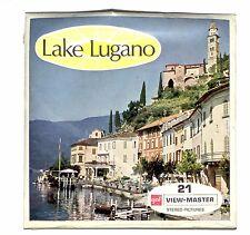 SEALED Vintage GAF FOREIGN View Master LAKE LUGANO C143 Italy Italia reel set !!
