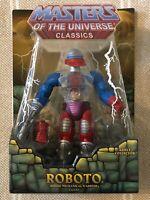 Roboto MOTUC Masters of the Universe Classics MOTU w/ mailer box
