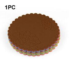 Cup Accessories Mat Non-Slip Insulation Soft Heat Resistant Silicone Multicolor