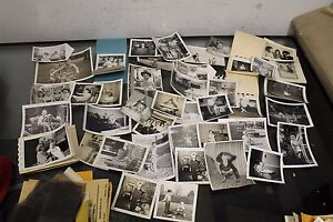 LOT OF VINTAGE 50S PHOTOGRAPHS SNAPSHOTS BABIES TODDLERS SMALL CHILDREN PLAYING