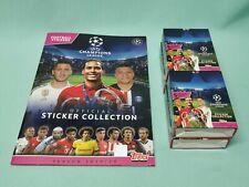 Topps Champions League Sticker 2019/2020 Sammelalbum + 4 x Display 19/20 Album