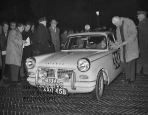 Triumph Motor Company 1960 Monte Carlo Rallye rally auto photo photograph