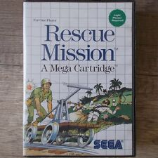 Sega Master System ► Rescue Mission ◄ komplett in OVP | TOP