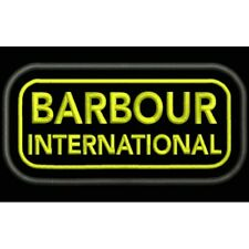GESTICKTE PATCH EMBROIDERED IRON PATCH PARCHE BORDADO TIPO BARBOUR INTERNATIONAL