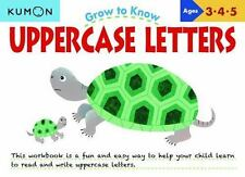 Grow to Know: Uppercase Letters, Kumon Publishing, Good Book