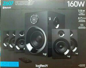 LOGITECH 5.1 SPEAKER SYSTEM EMEA Z 607 Brand New