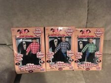 """The Three Stooges"" set of 3 - The Nostalgic Series Dolls-1997, Curly Larry Moe"