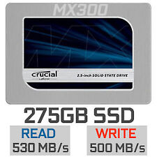 """BNIB Crucial MX300 275GB 2.5"""" SSD Hard Drive SATA III 3D NAND SATA 6.0Gb/s"""