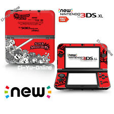 [new 3DS XL] Super Smash Bros. Red  VINYL SKIN STICKER DECAL COVER