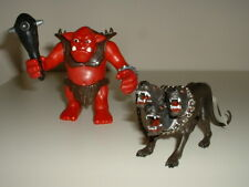 Playmobil Castle Knights - Giant Troll Ogre with Pet Three Headed Beast Hound.