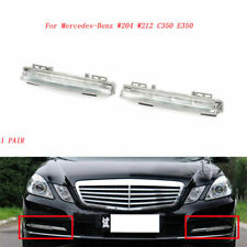 For Mercedes Benz W204 W212 Front L+R DRL Daytime Running Fog Light Driving Lamp