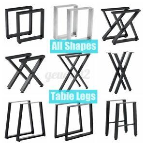 Tischbeine Tischkufen Tischgestell Tischfuß Tischuntergestell Industriede