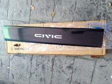 OEM RaRe! Nos! JDM SH3 EF Honda Civic Hatch OEM Rear Garnish BRAND NEW OLD STOCK
