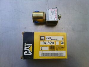 Caterpillar valve soleniod 2G5694 new old stock item. Motor grader and scraper.