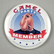 Joe Camel 1992 CAMEL PARTY MEMBER Promotional Pinback Button
