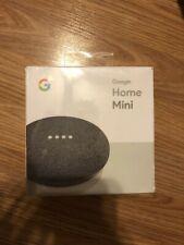 Google Home Mini Charcoal - New Sealed NIB Free Shipping